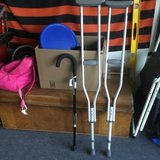 Crutches and walking cane new in Fairfield, California
