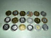 18 Trump coins in Fort Knox, Kentucky