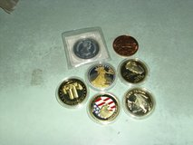 two - twin towers coins & two Evlis coins & more in Fort Knox, Kentucky