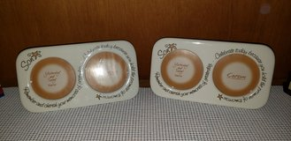 Ceramic picture frames by Carson Home accent (Reduced#5) in Camp Lejeune, North Carolina