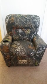 Kids  NWTF Mossy Oak Recliner Chair in Clarksville, Tennessee