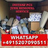 INSTANT PCS JUNK REMOVAL TRASH HAULING DEBRIS DISPOSAL GARBAGE DISCARD in Spangdahlem, Germany
