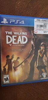 The Walking Dead Complete First Season PS4 Game in Camp Lejeune, North Carolina
