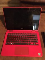 Red Dell Inspiron 2 in 1 laptop in Houston, Texas