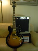 New Epiphone Sheraton-II Pro Guitar and Amp Package in St. Charles, Illinois