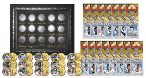 *** GOLDEN BASEBALL LEGENDS 15-Coin Sets 24K Gold Plated State Quarters US with Display Case *** in Fort Lewis, Washington