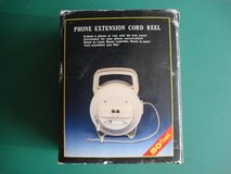50 FOOT PHONE EXTENTION CORD REEL in Yorkville, Illinois