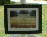 pic of stadium in warner robins / picture with glass / put in your own pic / great frame in Warner Robins, Georgia