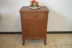 Antique Nightstand Bedside table in Ramstein, Germany