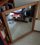 """31""""x41"""" Red Oak Framed mirror in Chicago, Illinois"""