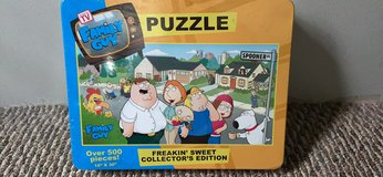 Family Guy puzzle never opened over 500 pcs in Houston, Texas