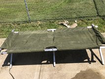 Military Cot in Fort Knox, Kentucky