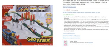 TRAINS TRAINS TRAINS  Price Reduced by $300!! in Travis AFB, California