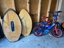 Kids Bikes and Original Boogie Boards in Fort Knox, Kentucky