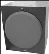 SUBWOOFER - SONY SA-W3000 Active Subwoofer - EXCELLENT CONDITION in Houston, Texas