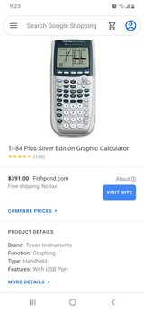 TI-84 Plus Silver Edition in Fort Campbell, Kentucky