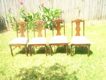 4 dining chairs in Sugar Land, Texas