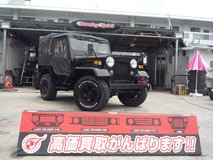 MITSUBISHI JEEP(Black) J55 Intercooler diesel turbo JCI 1 year included in Okinawa, Japan