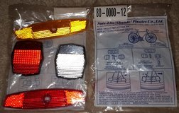 Bulk NEW bicycle reflectors replacement bike parts in Bartlett, Illinois