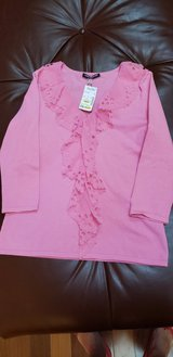 New Pink Top with Ruffles in Naperville, Illinois