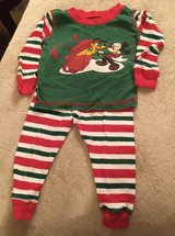 6-12M Mickey Holiday PJs in St. Charles, Illinois