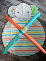 Baby activity elephant mat (mat only no toys) in Plainfield, Illinois