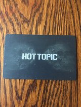 Hot Topic gift card in The Woodlands, Texas