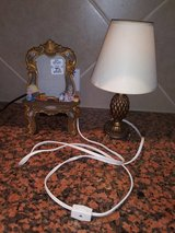 Lamp & picture frame in Spring, Texas