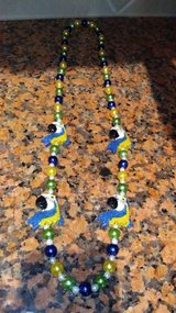 Parrot beaded necklace in Spring, Texas