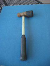 "16  1/2 "" LONG  RUBBER AND METAL MALLET in Chicago, Illinois"