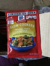 McCormick Slow Cookers General TSO Chicken in Travis AFB, California