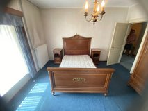 beautiful tiger oak bed room set with full size bed in Spangdahlem, Germany