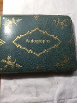1930's Autograph book-mostly big band and sports in Beaufort, South Carolina