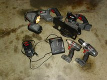 porter-cable 5 pc. 18 volts power toolset - with two batteries and charger in Fort Knox, Kentucky