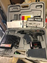 SENCO DS202-14V DuraSpin Cordless Collated Screwdriver + Case & Charger Needs New Battery in Kingwood, Texas