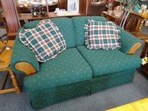 Hunter Green Love Seat in St. Charles, Illinois