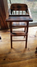 High Chair for Doll - wooden in Chicago, Illinois