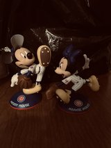 Mickey and Minnie Cubs playing ball in Naperville, Illinois