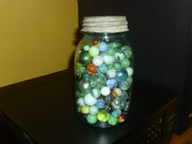 BALL JAR FULL OF MARBLES in Fort Knox, Kentucky