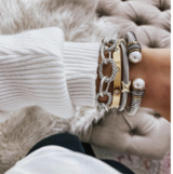 NEW The Styled Collection Logan Bangle Bracelet in Camp Lejeune, North Carolina