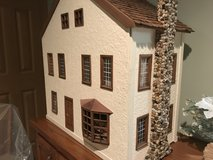 Large well made colonial style dollhouse with furniture in Naperville, Illinois