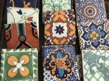 26 4 inch Talavera tiles in Yorkville, Illinois