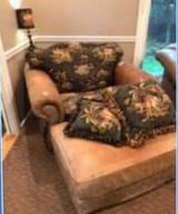 king hickory chair and ottoman in Naperville, Illinois
