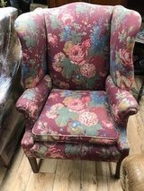 Wing Back Chairs  (Pair) in Naperville, Illinois