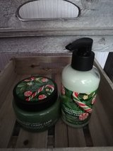 peppermint candy cane scrub and lotion in Lakenheath, UK