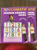 TouchMath Summer School workbook and guide in Okinawa, Japan