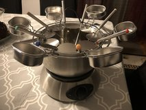 220v AEG Fondue Set in Ramstein, Germany