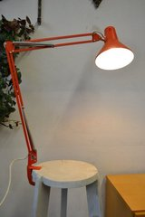 Several 60s 70s Mid century architect lamps with clampingbase Table / Desk lamp  Swing Arm in Ramstein, Germany