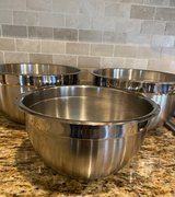 Beautiful Tramontina Stainless-steel Mixing Bowls in Houston, Texas