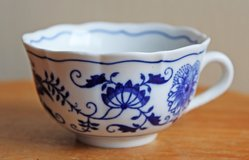 Czech porcelain cup for tea or coffee in Okinawa, Japan